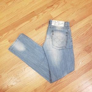 Just Cavalli Low Rise Bootcut Denim Pants Jeans